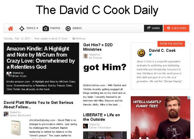 David Cook Daily