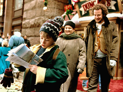 Home alone, the bible